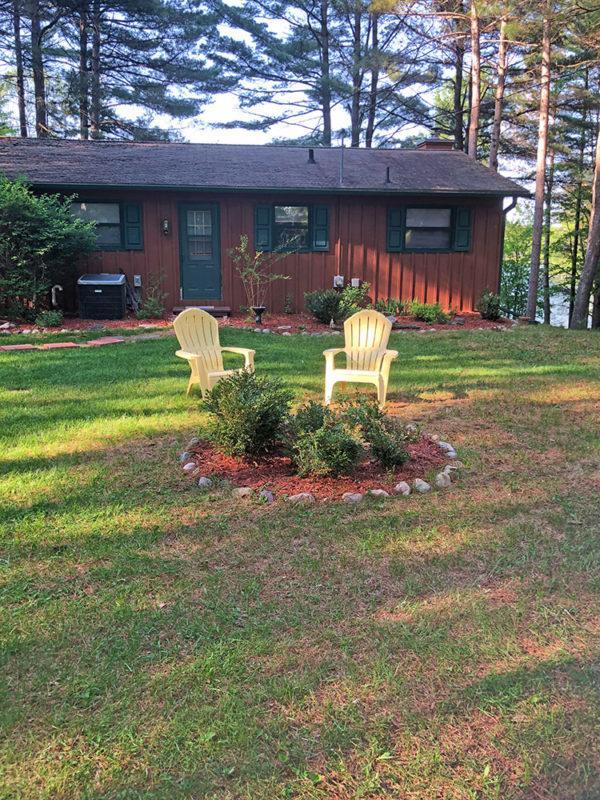 minocqua vacation home in Northwoods Wisconsin